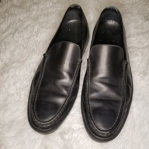 TOD'S Black Loafers Mens 12